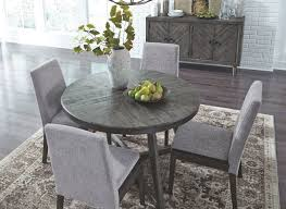 Besteneer Dark Gray 6 Pc Round Table, 4 Upholstered Side Chairs & Server Chair Marvelous Round Table And 4 Chairs Ding Table Juno Chairs Table And Chairs Plastic Round Mfd025 Ding Soren 5 Piece Piece Set 1 With 1200diam Finished In Concrete Miss Charcoal Coon Rapids With Luxury White Chrome Glass Lipper Childrens Walnut Key West 5piece Outdoor With