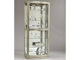 pulaski furniture curios platinum curio cabinet gill brothers