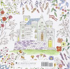 Amazon Romantic Country A Fantasy Coloring Book 9781250094469 Eriy Books