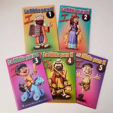 La Biblia Para Ti Set De 5 Libros Para Colorear