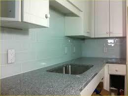 cheap kitchen backsplash alternatives wavy glass subway tile