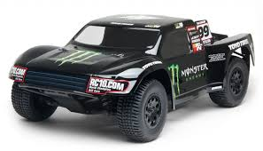 100 Monster Energy Rc Truck Limited Edition Team Associated SC104x4 RTR With Body