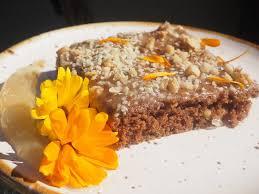 schoko nuss kuchen mit marmelade naturveg