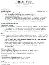 Sample Resume Graduate Professional School College Fresh Samples Easy For