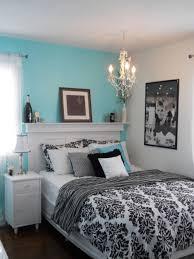 Tiffany Blue And White Bedroom Photo