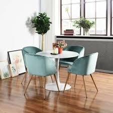 4x grün wohnzimmerst silky samt akzent sessel küche