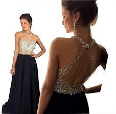 amazon com fanciest women u0027s crystal beaded prom dresses 2017 long