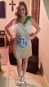 Pumpkin Spice Frappuccino Recipe Starbucks by 13 Starbucks Inspired Halloween Costumes You Need To See