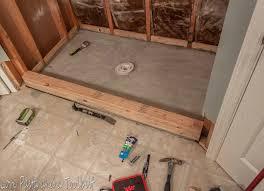 installing a tile shower floor zyouhoukan net