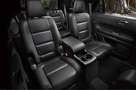 Luxury Suv With Second Row Captain Chairs by 2013 Ford Explorer New Car Review Autotrader