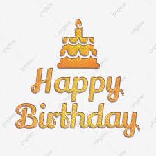 helle happy birthday abstrakten schriften mit kuchen