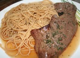 cuisiner coeur de boeuf spaghetti et coeur de boeuf à la plancha sauce fond de veau amafacon
