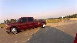 SLAMMED And SUPERCHARGED HOT ROD LOWERED CHEVY DUALLY TRUCK ~For ...