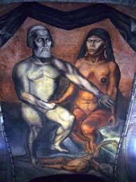Famous Mexican Mural Artists by Cortés And La Malinche Jose Clemente Orozco 1926 Mexico City
