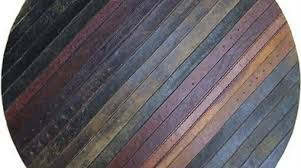 Flooring From Reclaimed Leather Belts