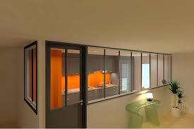 cuisine haut de gamme dessin en 3d d une cuisine haut de gamme avec verrière avant