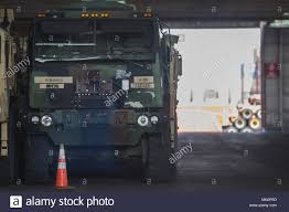 100 Interstate Truck Equipment US Army Solders Assigned To 2nd Stryker Brigade Combat Team 2nd