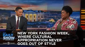 Cultural Appropriation Halloween by New York Fashion Week Where Cultural Appropriation Never Goes Out