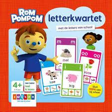Bolcom Rompompom Letterkwartet 9789048731220 Boeken