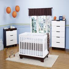 babyletto modo 3 in 1 convertible crib nursery set in white