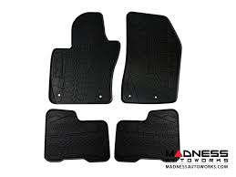 Jeep Jeep Renegade Floor Mats All Weather Rubber Deluxe
