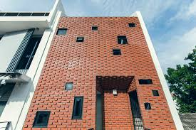 100 Terrace House In Singapore MAKK Architects Create A Refuge With Brick Designlivesg