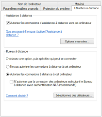 autoriser bureau a distance connexion bureau à distance sous linux avec rdesktop services