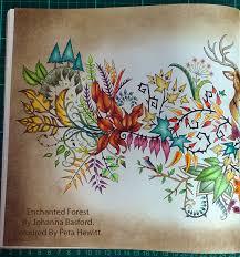 La Artistino Peta Hewitt Colour It Draw Paint Create Enchanted Forest Coloring BookJohanna