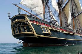 on the sinking of the hms bounty nc links