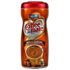 Nestle Coffee Mate Creamer Vanilla Caramel Powder 15 Oz