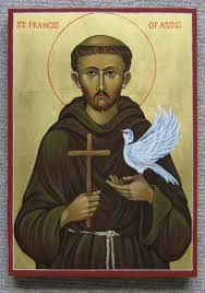 st francis of assisi icon