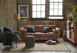 Darrin Leather Sofa Jcp by Copenhagen 2 5 Seat Leather Sofa 2699 Freedomaw15