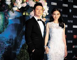 Huang Xiaoming And Angelababy Marry