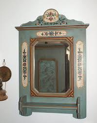 spiegel nr 004 voglauer anno 1700 altblau das holzhaus