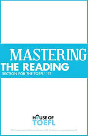 Mastering The Reading Section For TOEFL IBT By Kathy Spratt