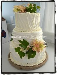 Rustic Wedding Cake Close Up Click To Enlarge