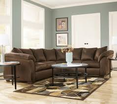 Jcpenney Furniture Sectional Sofas by Contemporary Sectional Sofa With Sweeping Pillow Arms By Signature