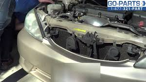 replace 2002 2006 toyota camry headlight bulb how to change