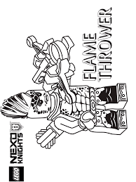 Lego Nexo Knight Coloring Pages For Boys 10