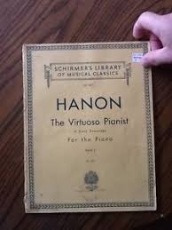 Schirmers Library Of Musical Classics Vol1071 Hanon Book US 1000 The Virtuoso Pianist