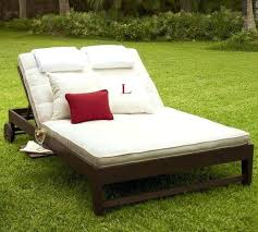 Sun Chaise Lounge Chairs Traditional Double With Cushions For