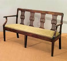 bedroom surprising wood set design antique wooden settee