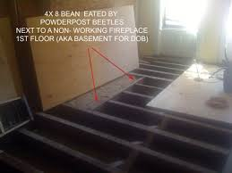 Sistering Floor Joists With Plywood by Sister Joist Replace Wood Bean What Wood Grain Building