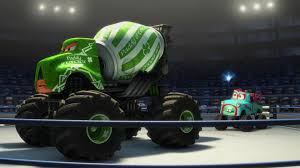 "Paddy O'Concrete, Character From ""Cars Toon : Monster Truck Mater ..."