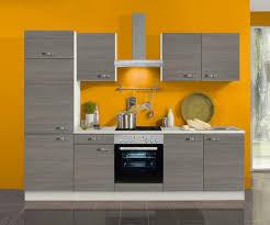 küchenblock vigo 270 cm mit einbauspüle ohne elektrogeräte in pinie nachbildung