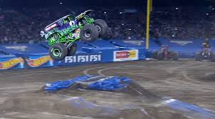 100 Monster Truck Backflip Grave Digger Goes Huge And Big Jump At Jam