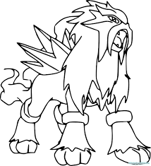 Fresh Legendary Pokemon Coloring Pages