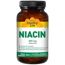 Country Life Niacin 500 mg 90 Tablets iHerb