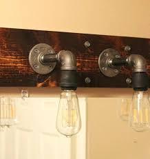 Rustic Bathroom Lights Medium Size Of Vanity Lighting Light Cottage Style