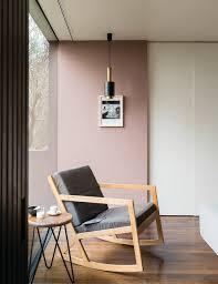 modernes wohnzimmer in sulking room pink contemporary